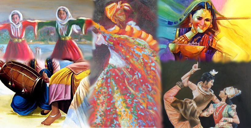 Multi-ethnic χοροί για παιδιά